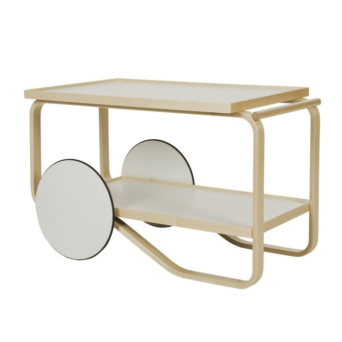 Tea Trolley White Furniture