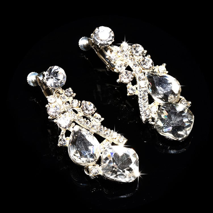 Korean Earrings Engagement Jewelry Sets