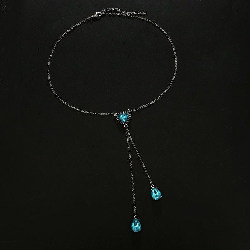 Water Drop Pendant Necklace European Female Necklaces