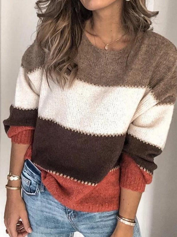 Regular Regular Loose Long Sleeve Sweater