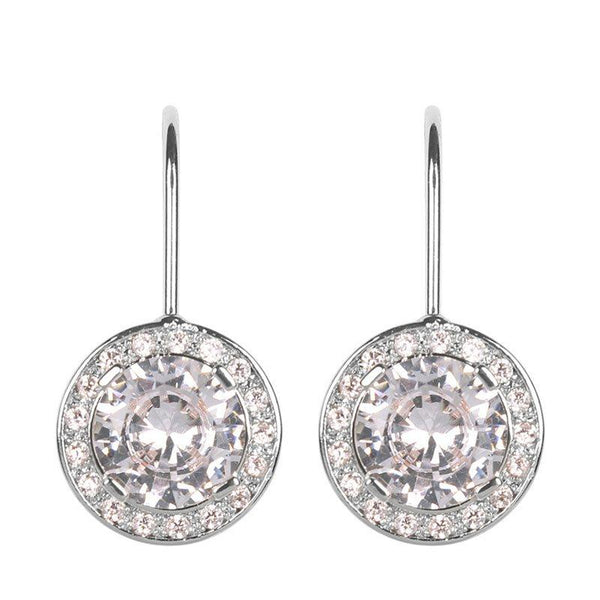 Diamante European Plain Party Earrings