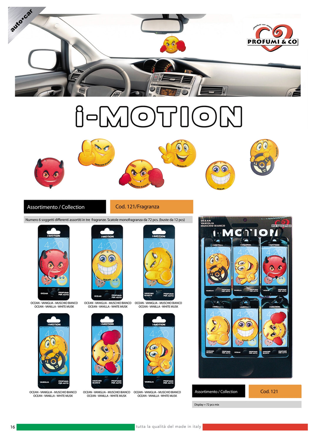 Air Freshener - I-Motion 72 pic