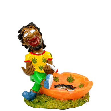 Rasta Joint Resin Ashtray