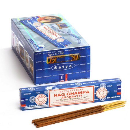 Nag Champa Superhit 12 Pack Display Case - 15gms