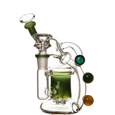 Finch Marble Décor Recycler Glass Bong