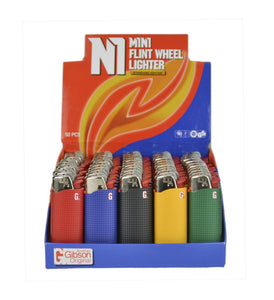Mini Lighters-50 pc box display