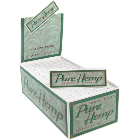 Pure Hemp Classic Single Wide Rolling Papers - 50 Booklets