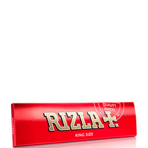 Rizla+ King Size Red Rolling Papers - 50 Pack Box