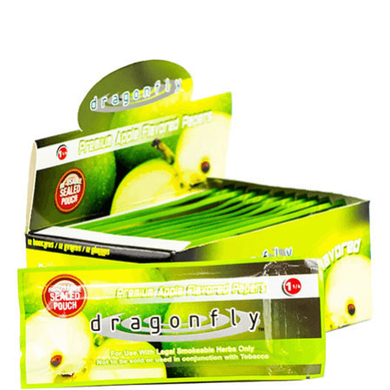 Dragonfly Rolling Papers - 12 Booklet Pack - Apple