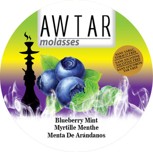 Herbal Molasses - Awtar Blueberry Mint 250g