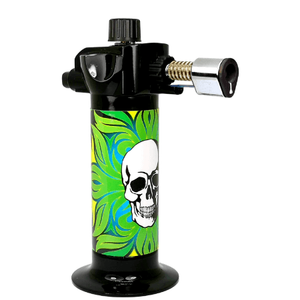 High Skull in the Greens Torch Lighter