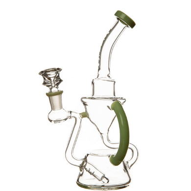 Clay Creek Arsenal Recycler Glass Bong