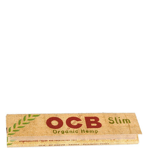 OCB Organic Hemp Slim Rolling Papers - 50 Pack Box