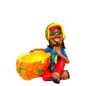 Rasta Bong Resin Ashtray