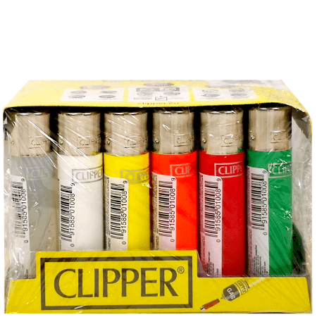 Clipper Classic Lighters - 24 Pack Display Case
