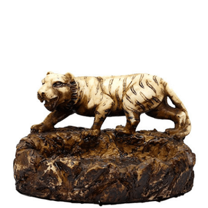 Tiger on the Prowl Resin Ashtray