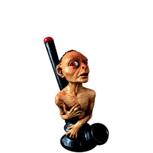 "LOTR Gollum 5"" Resin Pipe"