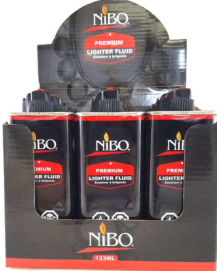 Nibo Premium Lighter Fluid 133ml 12 pic in display