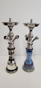Egyptian Small Stainless 3 Hose Hookah