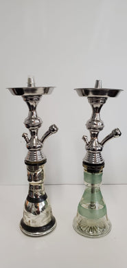 Egyptian Small Stainless Tunisi Hookah