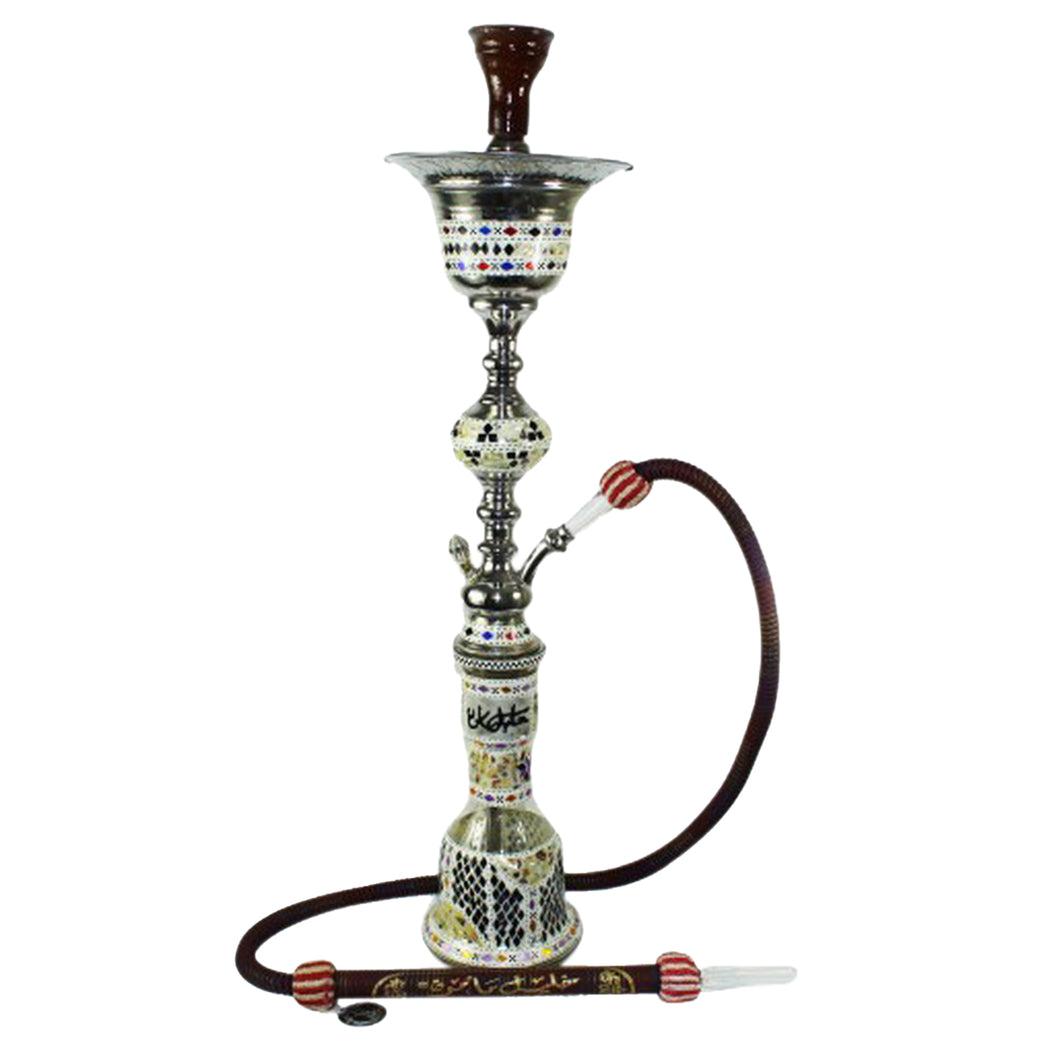 Egyptian Trophy Sadaf Hookah with ice