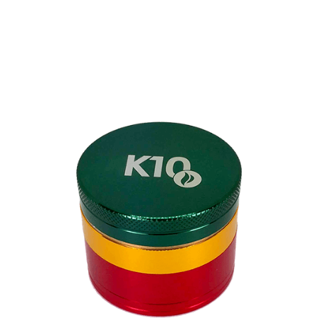 K10 Hardtop 4-Piece 50mm Grinder - Assorted Colors