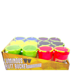 Luminous Butt Bucket Jumbo Assorted Colors 12-Set Combo Pack