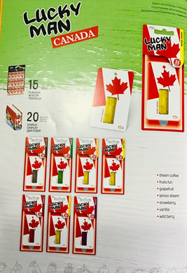 Air Freshener - Lucky Man Canada (20 Pcs/Display)