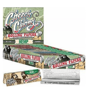 Cheech & Chong Hemp 1 1/4 Rolling Papers - 25 Booklets Pack