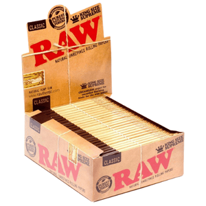 Raw Classic KS Supreme Rolling Papers - 24 Pack Box