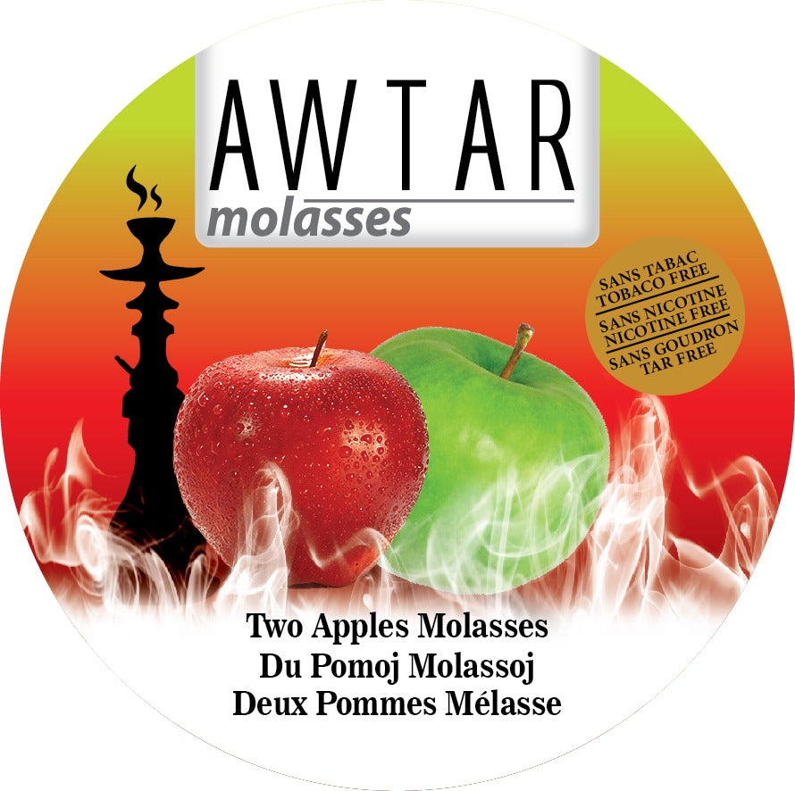Herbal Molasses - Awtar Apple 250g