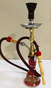 Egyptian Small Copper Hookah
