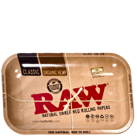 Raw Metal Large Rolling Tray (13.4