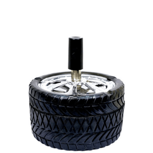 Tire Push-Down Ashtray