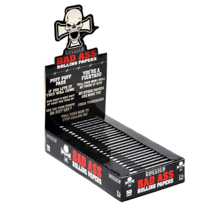 Rollies Bad Ass 1 1/4 Rolling Papers - 24 Pack Box