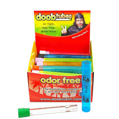 Doob Tubes with King Size One Hitter - 25 Pack Box