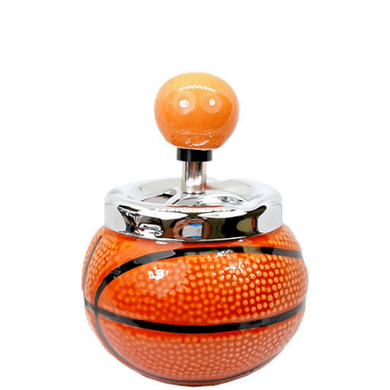 Basketball Push-Down Ashtray