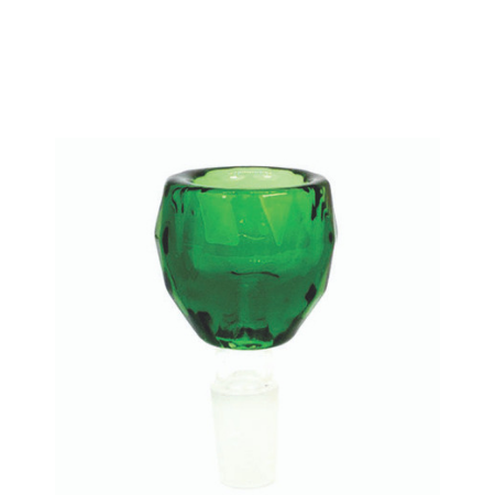 Crystal 14mm Glass Bowl - Lavender, Green, Clear