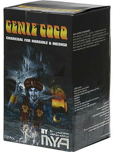 Charcoal Genie Coco - 1kg 112PCS - 12 Boxes