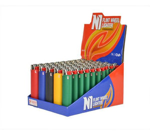 Regular Lighters-50 pc box display