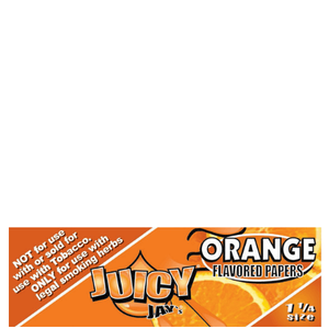 Juicy Jay's 1 1/4 Orange Flavored Papers - 24 Pack Box