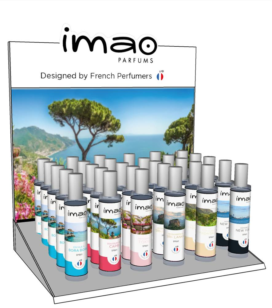 Imao French Perfume Spray Air Freshener 30ML