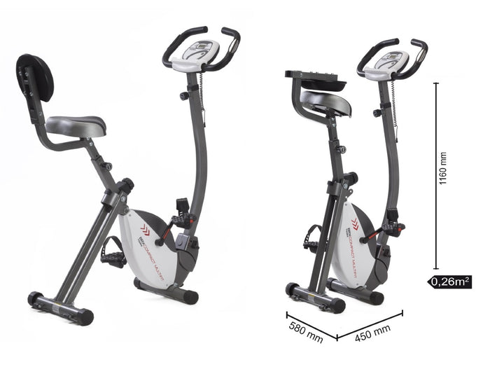 Cyclette BRX Compact Multifit TOORX Richiudibile