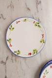 Ceramic Starter Plates Set - Mix Flower Design