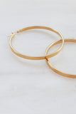 PALAS Flat Hoop Earrings
