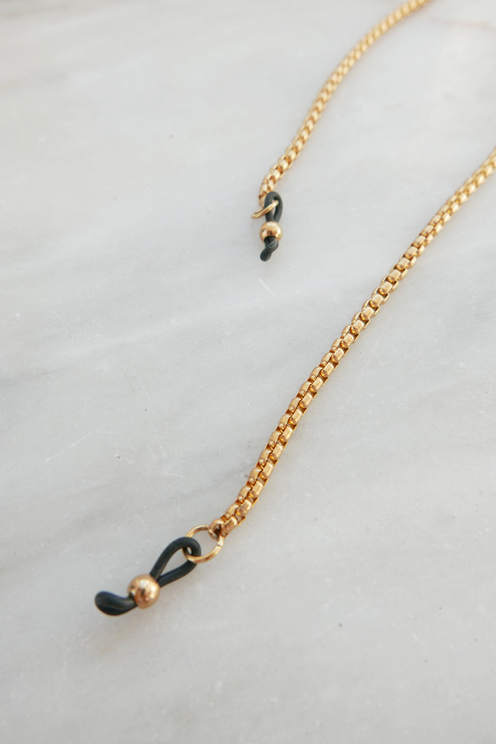 Eyeglasses Chain Gold Snake