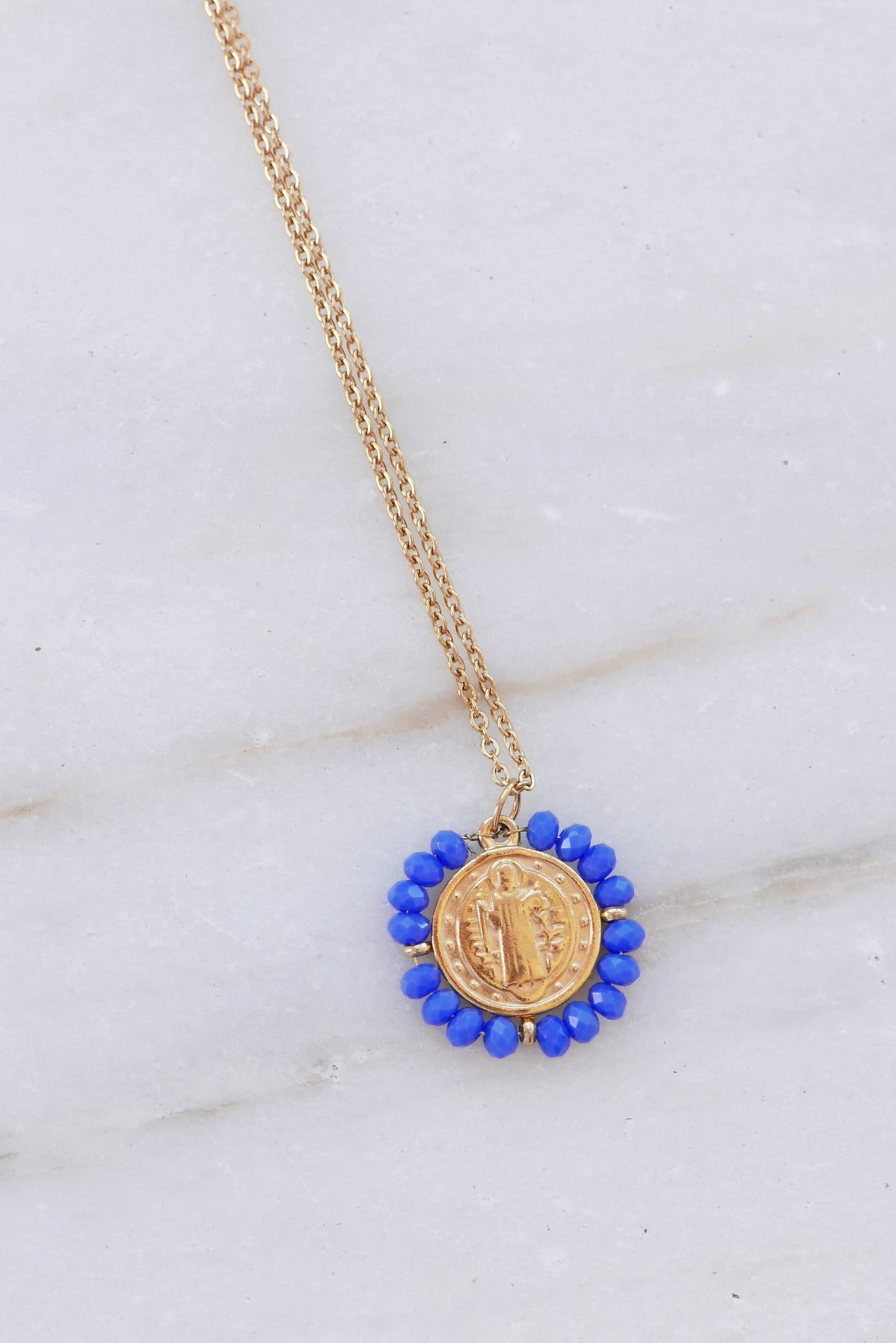 Santo Necklace - King Blue