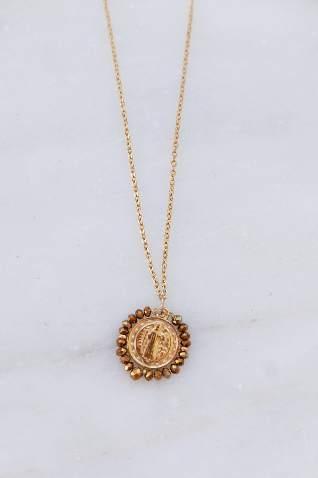 Madonna Necklace - Gold