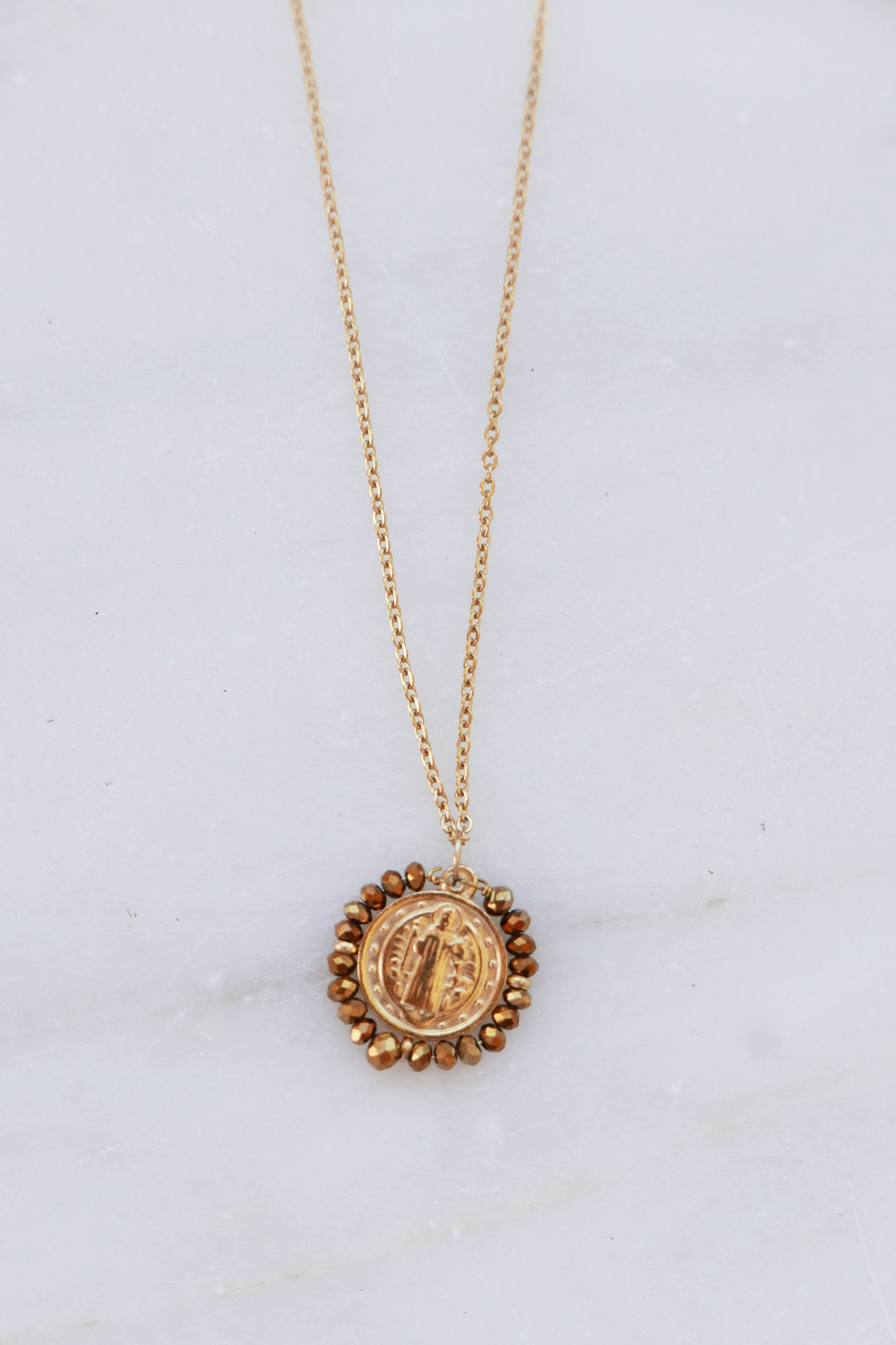 Santo Necklace - Gold