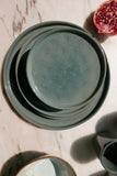 Stoneware Dinner Plate - Blue-grey